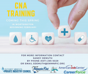 spring certified nursing assisant training