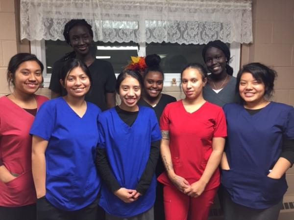 nursing assistant students worthington